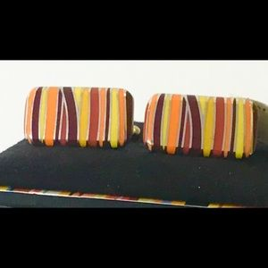 PAUL SMITH Colorful Cuff Links BRAND NEW